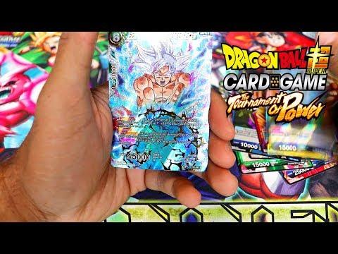 MASTERED ULTRA INSTINCT GOKU SCR PULL?! Dragon Ball Super Card Game