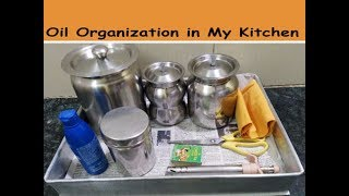 Oil Organization in my kitchen - Tips Today - 4