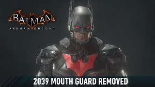 MATERIAL; Batman; Arkham Knight; 2039 Mouth Guard Removed