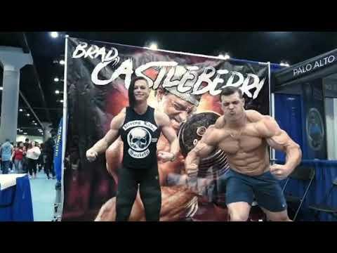 FEMALES BODYBUILDING,- ELEONORA DOBRININA, IFBB MUSCLE, WORKOUT