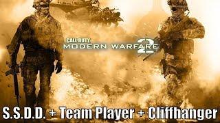 Let's Play Call of Duty: Modern Warfare 2 (S.S.D.D. + Team Player + Cliffhanger)