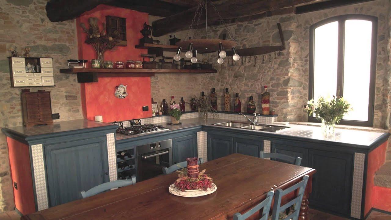 La cucina rustica in muratura di Zaccaria Monguzzi  YouTube
