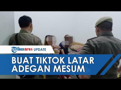 Buat TikTok Dengan Latar Adegan Mesum, Perempuan Di Banjarbaru Ditangkap