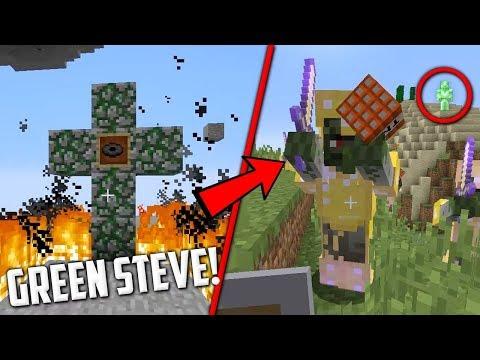 GREEN STEVE CI HA INGANNATI! - GREEN STEVE SEED - MINECRAFT 1.12.2 ITA