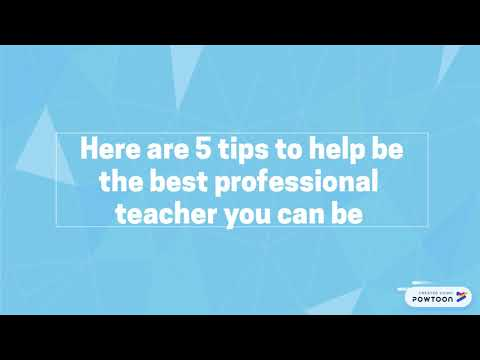 tips on being professional