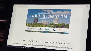 Image for vimeo videos on Health Tech Startup Expo to help small businesses in Augusta