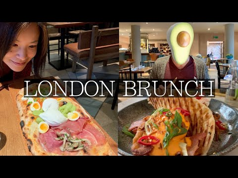 Must Visit BRUNCH Hotspots In London | Avocado Crazy, Brunch Pizza, Smoothies, Pancakes
