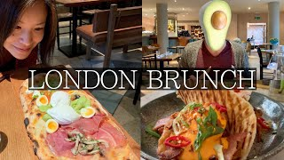 Must Visit BRUNCH Restaurants in London | Avocado Crazy, Brunch Pizza, Smoothies, Pancakes