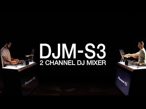 Pioneer DJ DJM-S3 Official Introduction
