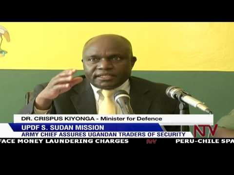 "UPDF S. Sudan Mission: ""We went to stop genocide"" - Defence Minister"