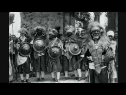 ETHIOPIA-BLACK WARRIORS