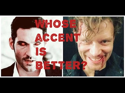 The best Accent: Lucifer Vs Klaus