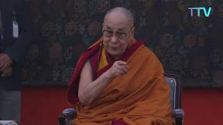 His Holiness Speaks on Overcoming Anger and Anxiety