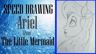 Speed Drawing II Ariel from The Little Mermaid II GIANPAOLO MURAZZO