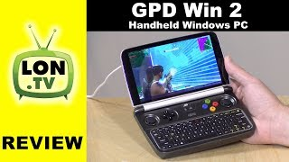 GPD Win 2 Review: Handheld Windows PC With Intel Core M3 Processor