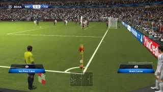 Real Madrid Vs Barcelona GOALS 5-0 PES 2014 FULL MATCH PC GAMEPLAY !