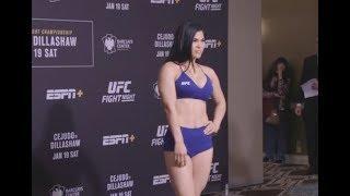 UFC Brooklyn: Paige VanZant, Rachael Ostovich Make Weight - MMA Fighting