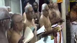 Ramanuja Nootrandhadhi/Desika Prabandham at Peria  Satrumurai Swami Desikan Thirunakshtram