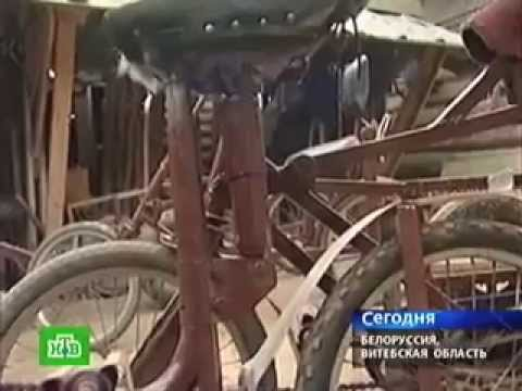 видео: Белорусский Кулибин изобрел велосипед
