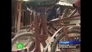 Белорусский Кулибин изобрел велосипед