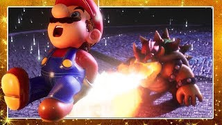 SUPER MARIO 64 HD ROAD TO BOWSER + BOWSER FIGHT DEMO in 4K in UNREAL ENGINE 4 by CryZENx