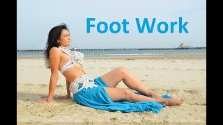 Feet and Foot Work for Belly Dancers || Belly Dance Basics