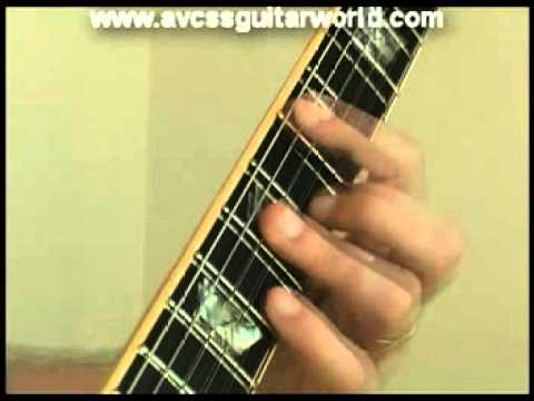 Guitar Lesson - Suspended Barre Chord - Dsus - YouTube