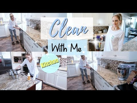 ✨CLEAN WITH ME ~ KITCHEN CLEANING MOTIVATION 2019