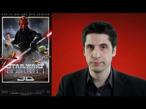 Star Wars: The Phantom Menace 3D movie review