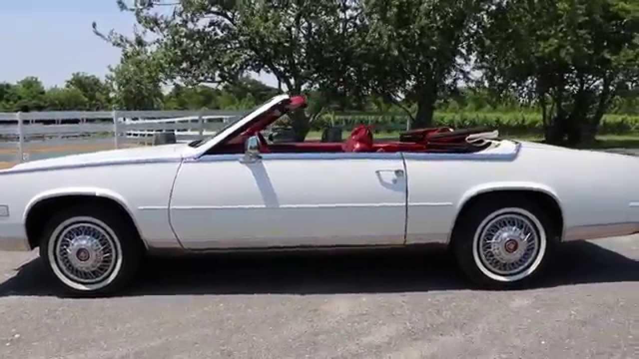 1984 Cadillac Eldorado Biarritz Convertible For