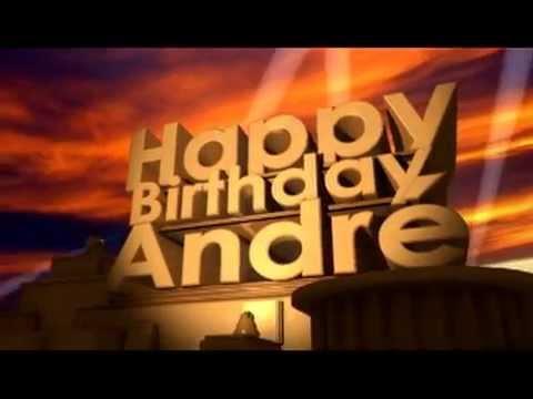 happy birthday andre Happy Birthday André   YouTube happy birthday andre