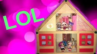 Kuća za Lutke Lol. Zojina i Asjina Kucica za LOL