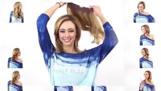 как сделать прическу на короткие волосы с накладными прядями