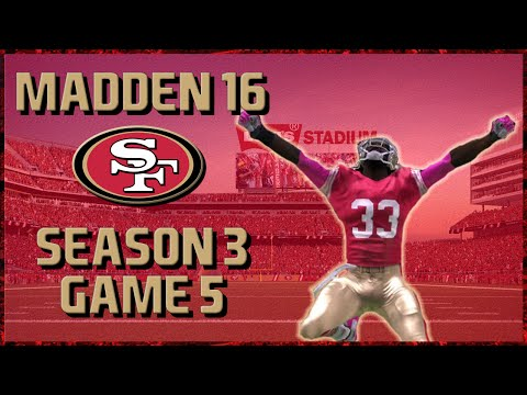 Madden 16 Franchise: San Francisco 49ers | Year 3, Game 5 vs Texans