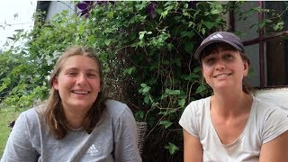 Learning agriculture in a Folk High School - Rose & Marie, Denmark
