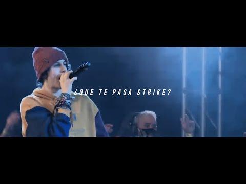 JAZE vs STRIKE: MINUTO DOBLE TEMPO de JAZE / FMS Perú 2020 / LETRA - Aquiktal Subs.