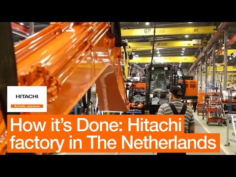 How It's Done At Hitachi Construction Machinery (Europe)