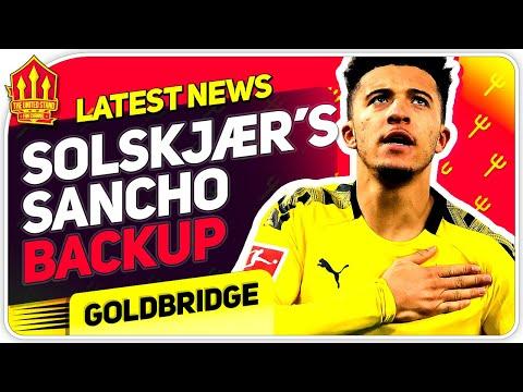 Solskjaer's Sancho Transfer Alternatives! Man Utd Transfer News