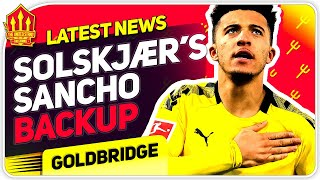 Solskjaer's Sancho Transfer Alternatives! Man Utd Transfer News