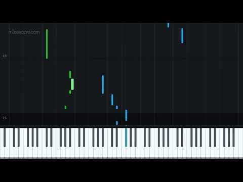 Super Paper Mario - Mr. L, Green Thunder [Piano Tutorial + Sheet music] thumbnail