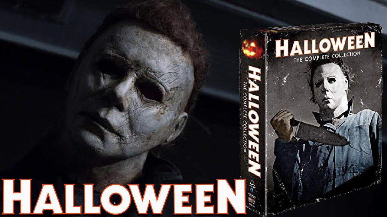 halloween blu ray 10 movie box set