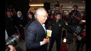Najib at Bukit Aman CCID HQ to give statement