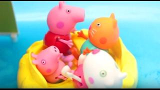 Мультфильм 🔴Peppa Pig🔴 Cвинка Пеппа Пиг. Пеппа новая серия. Новый бассейн