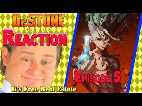 It's Free Real Estate! Dr. Stone Episode 5 Reaction!