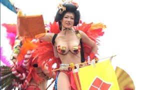 浅草サンバ 2016 華やかロボットレストラン ASAKUSA Samba Carnival