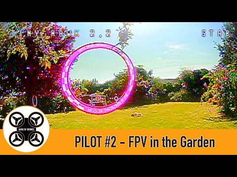 Фото Game of Drones - Pilot #2 FPV in the Garden, I still crash