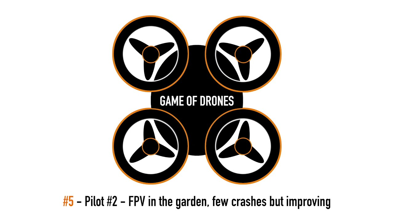 Game of Drones - Pilot #2 FPV in the Garden, I still crash картинки
