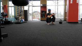 Prying Goblet Squats