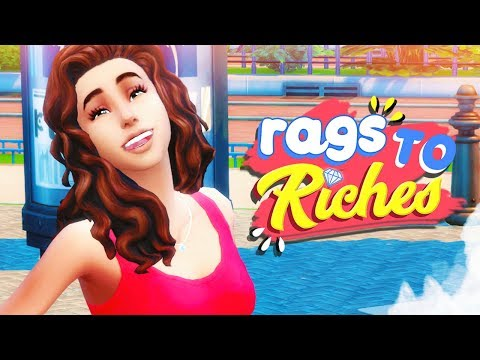 TRAGEDY 😰 // The Sims 4: Rags To Riches #1