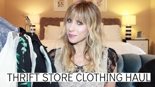Thrift Store Clothing Haul | Summer Saldana